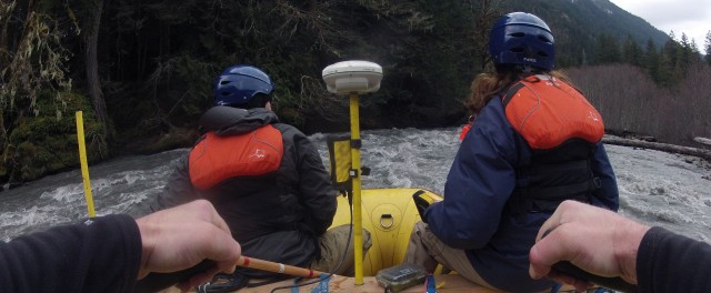 Scientists on the Elwha River
